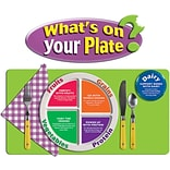 Whats on Your Plate? Bulletin Board Set