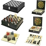 Natico 8 in 1 Game in Wooden Box (60-G057)