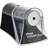 Westcott® iPoint Evolution Axis Pencil Sharpener, Black (15510)