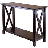 Winsome Xola 30 x 45 x 17.09 Composite Wood Console Table, Cappuccino