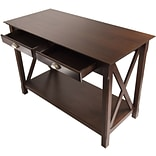 Winsome Xola 30 x 45 x 21 Composite Wood Console Table With 2 Drawers, Cappuccino
