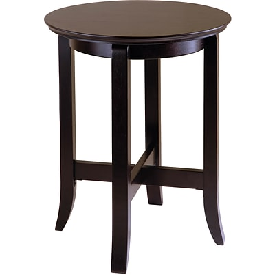 Winsome Toby 21.97 x 18.03 x 18.03 Composite Wood End Table, Espresso
