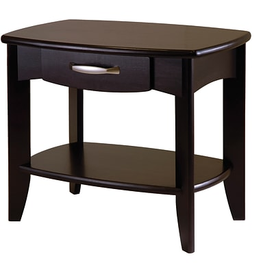 Winsome Danica 20 x 24 x 15.98 Wood End Table, Dark Espresso