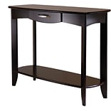 Winsome Danica 30 x 40 x 15.98 Wood Console Table, Dark Espresso