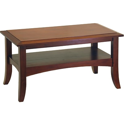 Winsome Craftsman 18.1 x 33.9 x 18.9 Wood Coffee Table, Brown