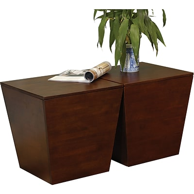 Winsome Mesa 18 x 18 1/2 x 18 1/2 Wood Storage Cube or End Table, Brown