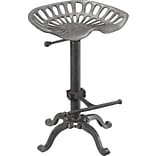 Carolina Cottage Iron Adjustable Tractor-Seat Bar Stool