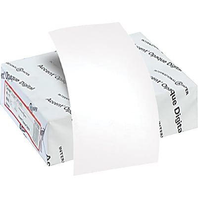 IP Accent® Opaque 8 1/2 x 11 80 lbs. Smooth Multipurpose Paper, White, 3200/Case