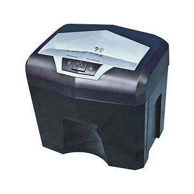 HSM shredstar MS12c Cross-Cut Shredder; shreds up to 12 sheets; 2.1-gallon capacity