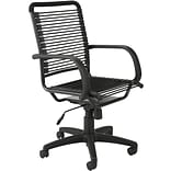 Euro Style™ Bungie Bungee Cord Loops High Back Office Chair; Graphite Black, Box