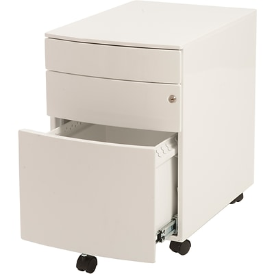 Euro Style™ Floyd Steel File Cabinet; White, Box