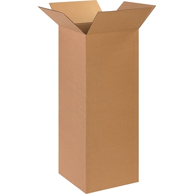 14 x 14 x 36 Shipping Boxes, 32 ECT, Brown, 20/Bundle (BS141436)