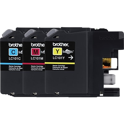 Brother Genuine LC1013PKS Cyan, Magenta, Yellow Original Ink Cartridges Multi-pack (3 cart per pack)