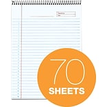 TOPS® Docket® Gold Project Planner Pad, White, Special Ruled, 8 1/2 x 11 3/4, 70 Sheets