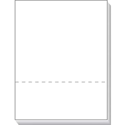 TOPS® 05050 Laser Cut Sheet, White, 2(H) x 11(W) x 8.5(D), 500 Sheets