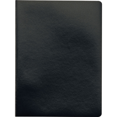 TOPS® Idea Collective™ Journals, 7-1/2x9-1/2, Wide Ruling, Black, 96 Sheets, 2-Pack