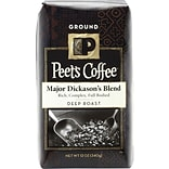 Peets Major Dickasons Blend, Deep Roast Ground Coffee, 12 oz
