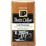 Peets Coffee Cafe Domingo Ground Coffee, 12 oz.