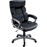 Quill Brand® Burlston Luxura Managers Chair, Black