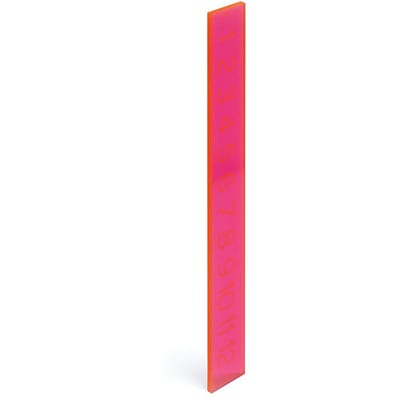 Poppin Neon Pink Ruler