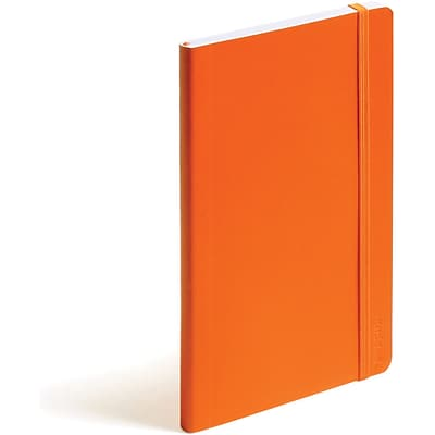 Poppin Orange Medium Soft Cover Notebook