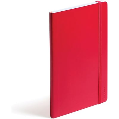 Poppin Red Medium Soft Cover Notebook