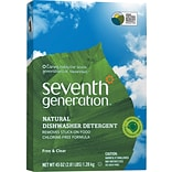 Seventh Generation™ Natural Automatic Dishwasher Detergent Powder, Free & Clear, Unscented, 45 oz. B