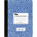 TOPS® Sewn Composition Book With Hard Cover, 9 3/4 x 7 1/2