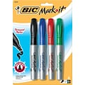 $2.99 BIC® Mark-it® Chisel Tip Permanent Markers when you buy 6 4-packs