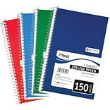 Mead® 9-1/2x6 College-Rule Notebooks