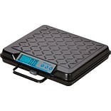 Brecknell® GP250 Electronic Portable Bench Scale, 250 lb. Capacity, Gray (GP250)