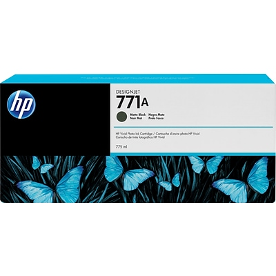 HP 771A Matte Black Ink Cartridge (B6Y15A)