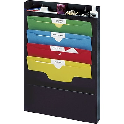 Buddy Products® Task File Organizer Rack, Black