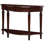 Powell® 34 1/4 x 46 x 15 Masterpiece Console Table, Warm Cherry