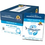 HammerMill Great White Copy Paper, 8 1/2 x...