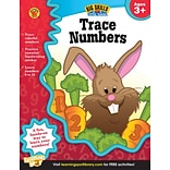 Brighter Child Trace Numbers Book for Ages 3+