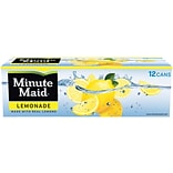 Minute Maid® Lemonade, 12 oz. Cans, 24/Pack