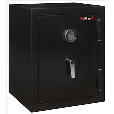 Fire King® Fireproof Electronic Safes; 1/2-Hour, 4.02 Cu. Ft., 7-4/5Hx21-3/5Wx19D, Black