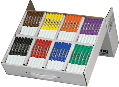 Washable Markers School Pack