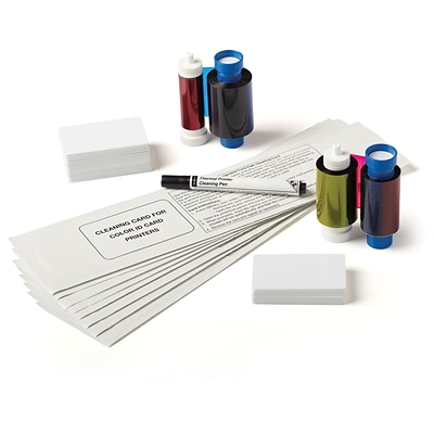 IDville Business+ Edition ID Badge Printer Supply Bundle