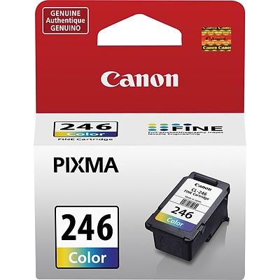 Canon CL 246 Color Combination Ink Cartridge, Standard (8281B001)