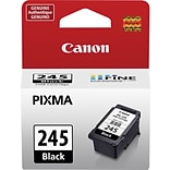 Canon PG-245 Black Ink Cartridge, Standard (8279B001)