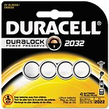 Duracell® 3V 2032 Lithium Medical Battery, 4/Pk