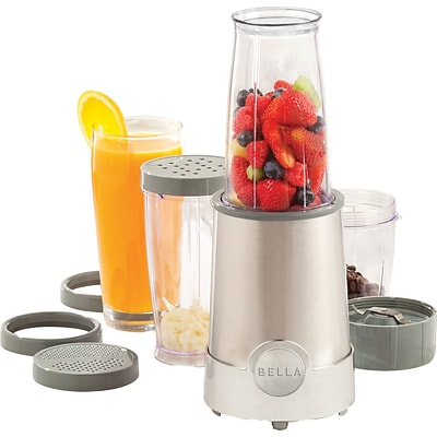 BELLA® 12 Piece Rocket Blender, Chrome