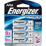 Energizer® Lithium AA Battery 8-Pack
