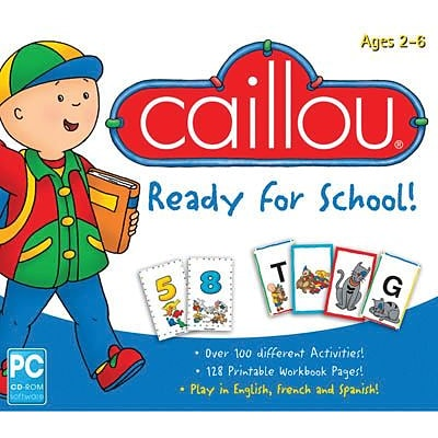 Encore Caillou Ready For School for Windows (1 User) [Download]