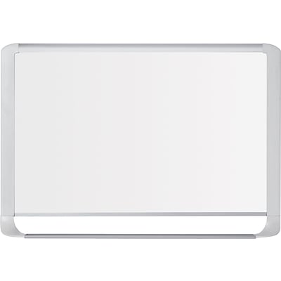 MasterVision® Magnetic Dry-Erase Board, Steel Frame, 24x36