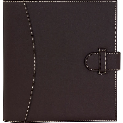 Its Academic Executive 1 D-Ring Brown Binder/Organizer