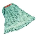 Rubbermaid® Super Stitch® Blend Mop, Large, Green, 1 Headband, 6/Ct