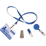 IDville ID Badge Accessory Bundle - Blue